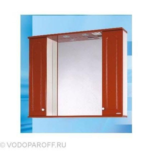 Зеркало для ванной SANMARIA Венге 100 (цвет красный)