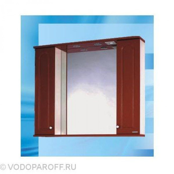 Зеркало для ванной SANMARIA Венге 100 (цвет вишня)