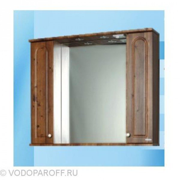 Зеркало для ванной SANMARIA Венге 100 (цвет светлый орех)