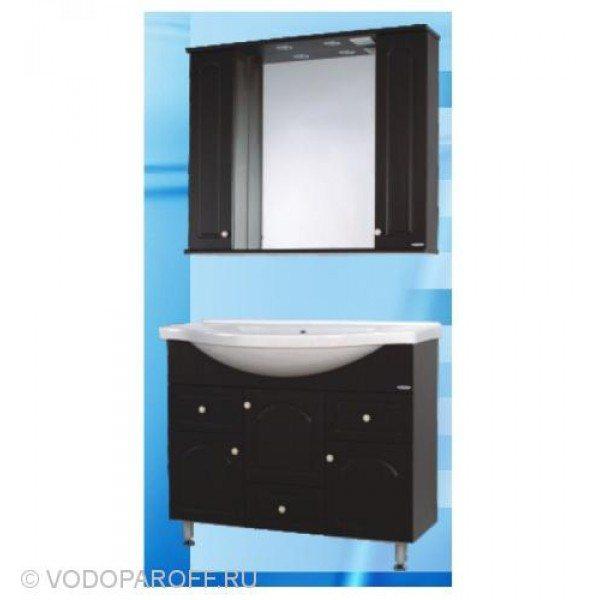 Комплект мебели для ванной SANMARIA Венге 100 (цвет венге)