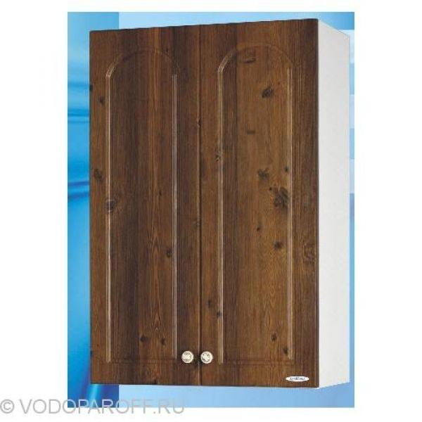 Шкаф подвесной для ванной SANMARIA Венге (цвет светлый орех)