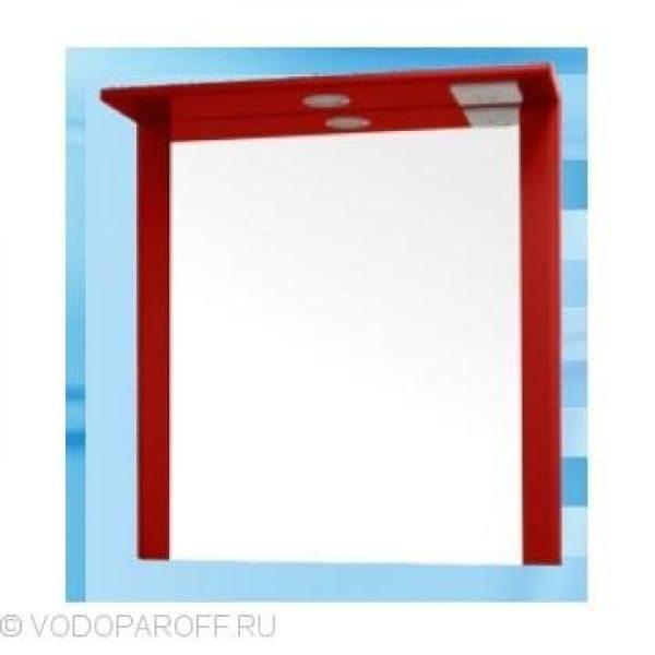 Зеркало для ванной SANMARIA Кристалл 60 (цвет красный)