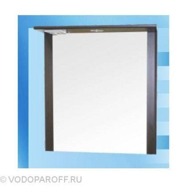 Зеркало для ванной SANMARIA Кристалл 60 (цвет венге)