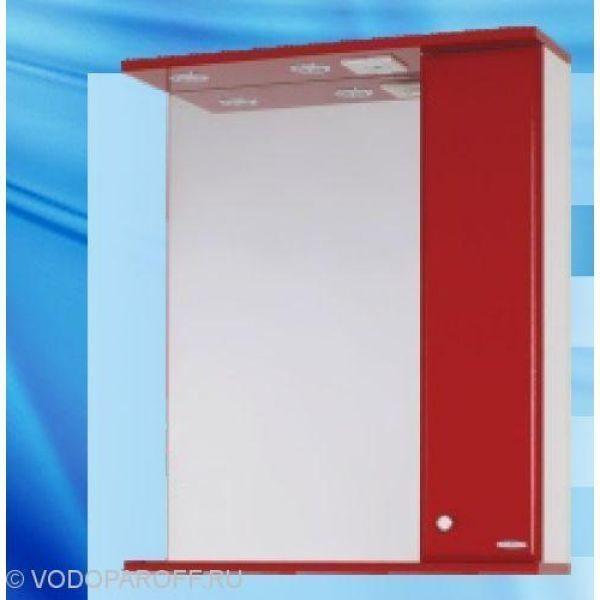 Зеркало для ванной SANMARIA Кристалл 70 (цвет красный)