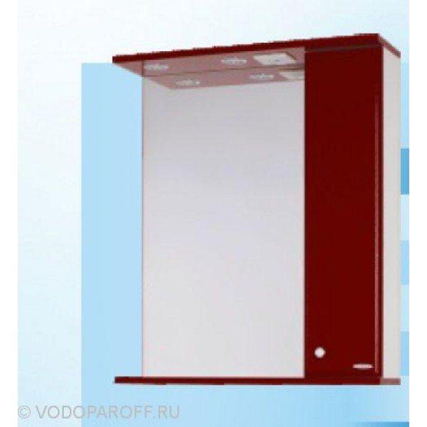 Зеркало для ванной SANMARIA Кристалл 70 (цвет вишня)