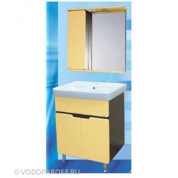 Комплект мебели для ванной SANMARIA Вена 60 (цвет венге/ваниль)
