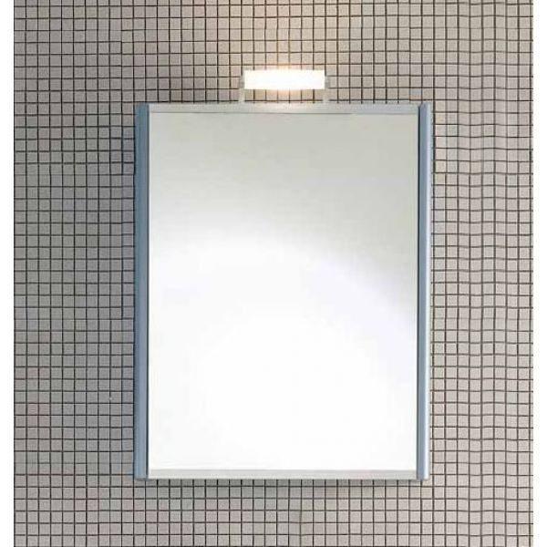 Шкаф зеркало для ванной комнаты с зеркальной створкой Berloni Bagno DAY SN06 (матовая поверхность)