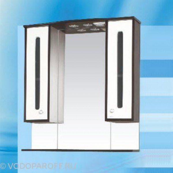 Зеркало для ванной SANMARIA Париж 80 (цвет венге с белым)