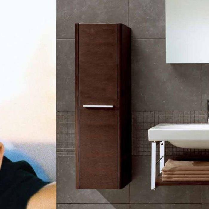Пенал для ванной комнаты Berloni Bagno DAY CB05 (отделка шпон, цвет венге 405)