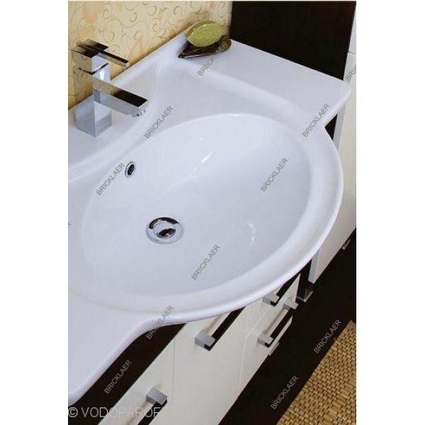 Кoмплект мебели для вaннoй бриклаер Сеул 85 (бежевый)