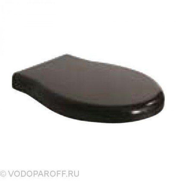 Сидение и крышка для унитазов Globo PAESTUM PA020N (полиэстер, цвет черный)