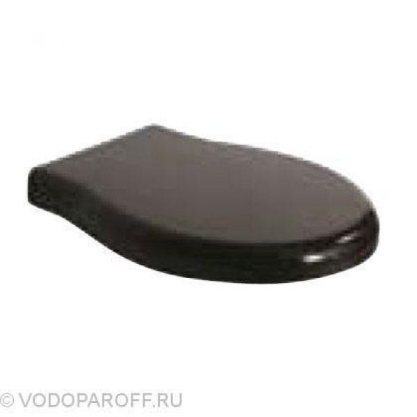 Сидение и крышка для унитазов Globo PAESTUM PA029N (полиэстер, цвет черный)