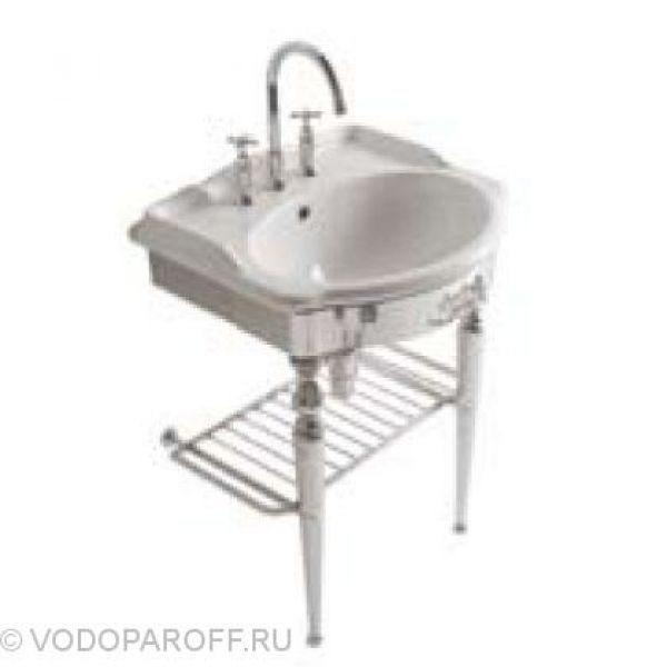 Раковина для ванной Globo PAESTUM PA057 с напольной консолью PATC57