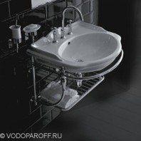 Раковина для ванной Globo PAESTUM PA057 с подвесной консолью PASC57
