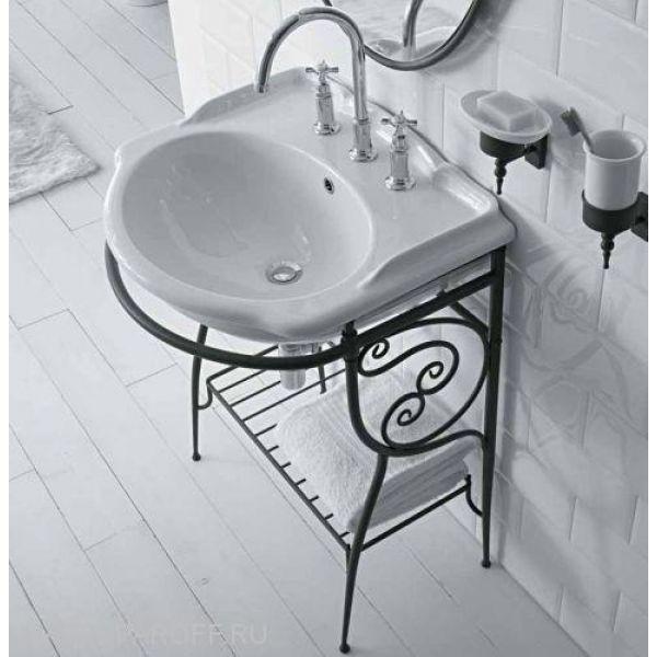 Раковина для ванной Globo PAESTUM PA006 с напольной консолью PA034