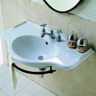 Раковина для ванной на 90 см Globo PAESTUM PA056 с полотенцедержателем PA096