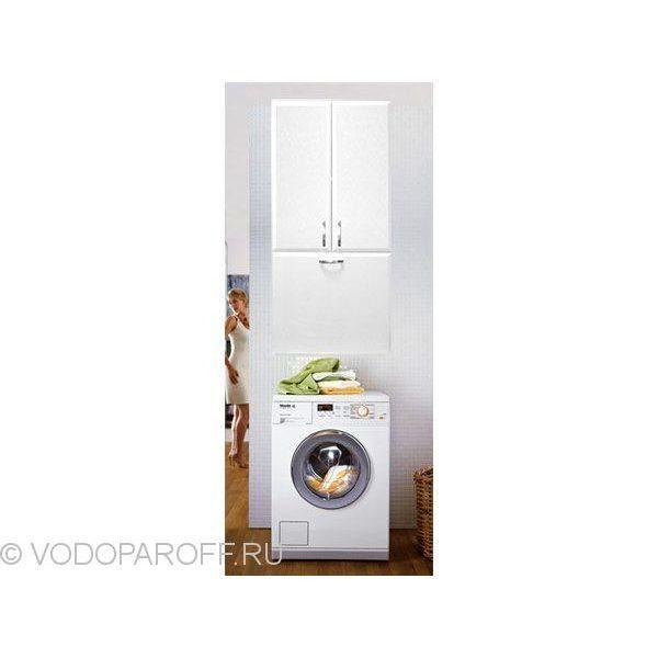 Шкаф для ванной с корзиной для белья Vod-ok Колумбия
