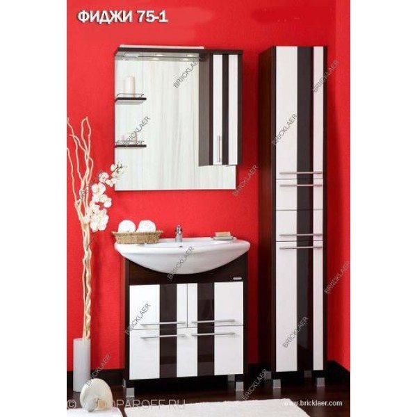Комплект мебели для ванной бриклаер Фиджи 75-1