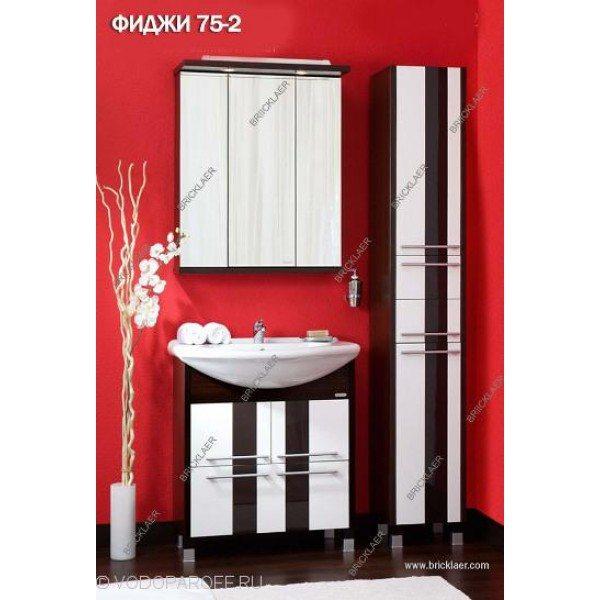 Комплект мебели для ванной бриклаер Фиджи 75-2
