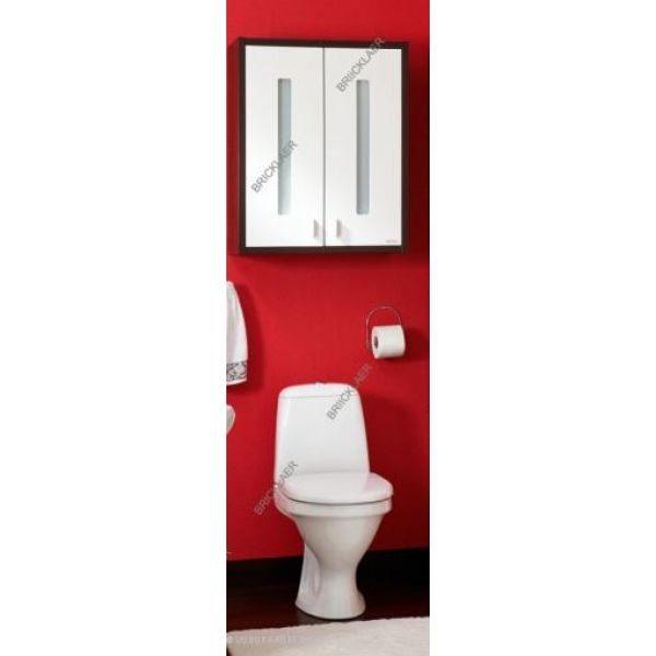 Шкаф для ванной Бриклаер Бали 60