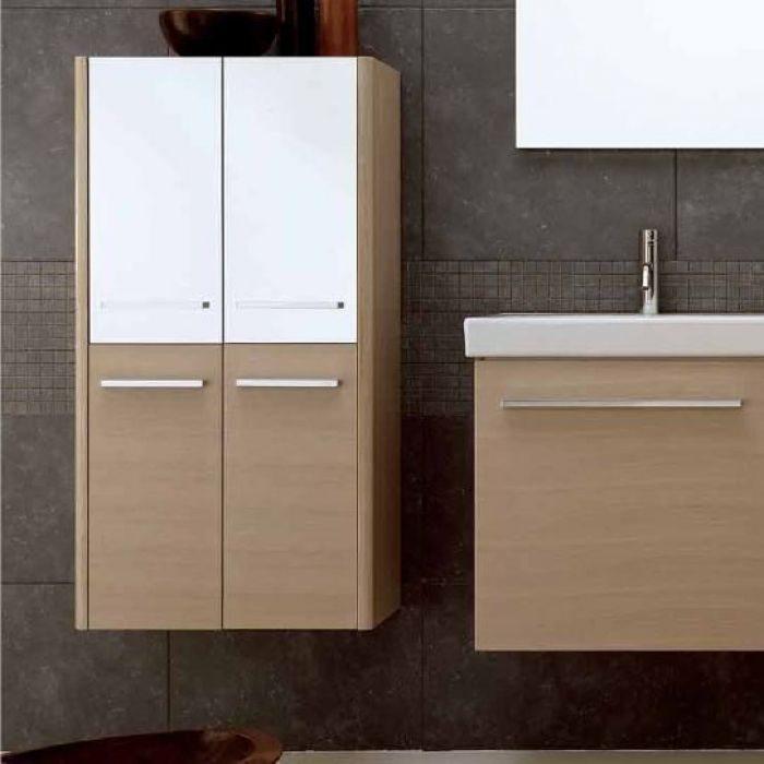 Шкаф для ванной комнаты Berloni Bagno DAY, SQUARED CB06 (отделка шпон)