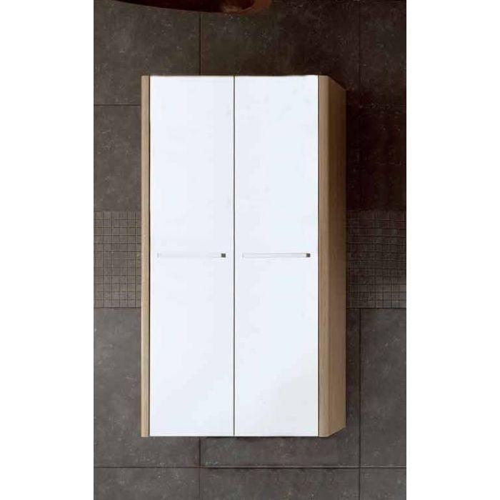 Шкаф для ванной комнаты Berloni Bagno DAY, SQUARED CB09 (отделка шпон)