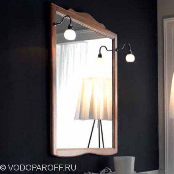 Зеркало для ванной Kerasan RETRO 7345 (цвет орех)