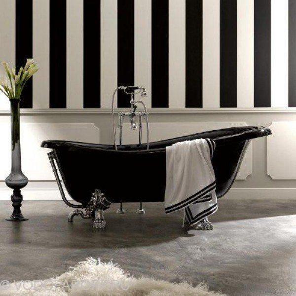 Ванна Kerasan RETRO 1052 (цвет чёрный)