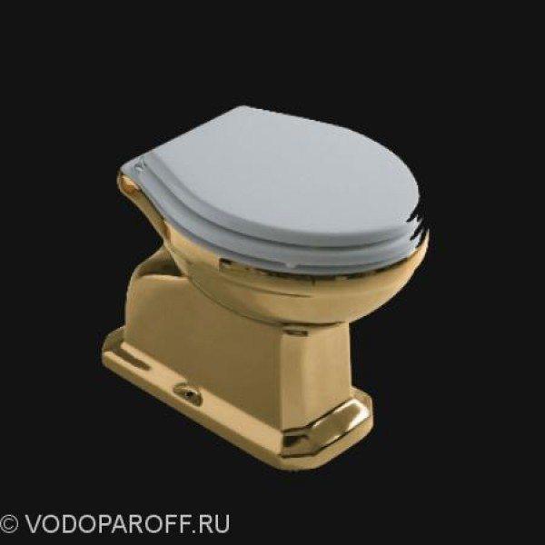 Унитаз напольный galassia Ethos 8403OR (цвет золото)