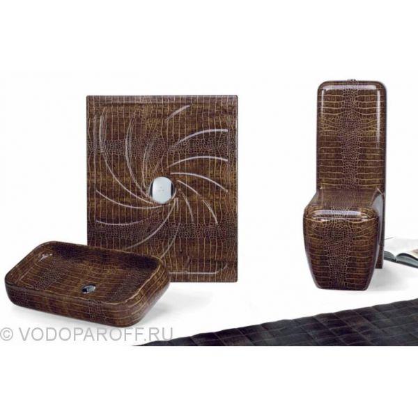 Унитаз напольный моноблок CIELO Jungle SHVAX с керамическим бачком SHCMX (цвет coco dundee)