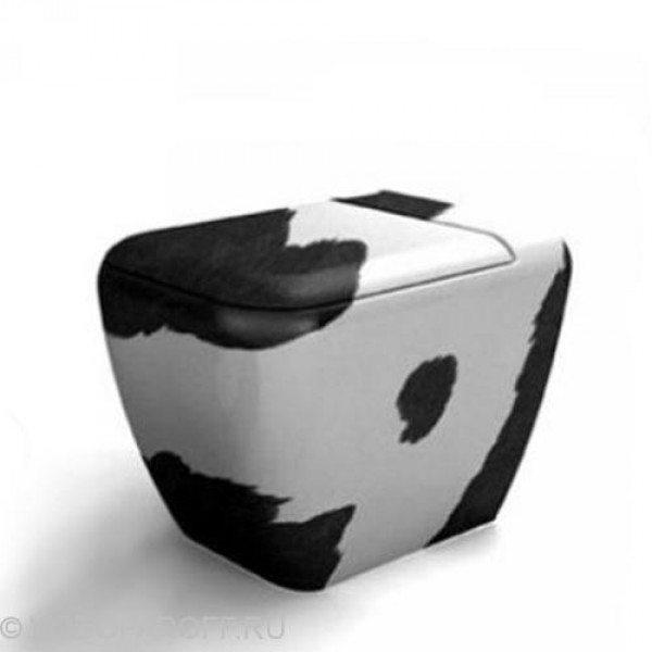 Унитаз напольный приставной CIELO Jungle SHVAX (цвет cavallino)