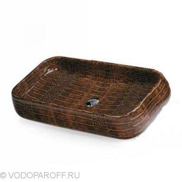 Раковина накладная для ванной на 80 см CIELO Jungle SHLAA80X (цвет dundee)
