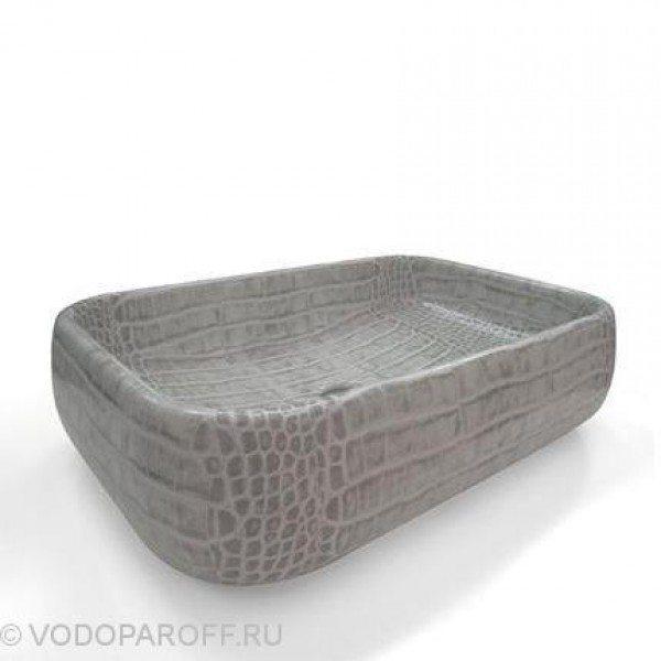 Раковина накладная для ванной на 60 см CIELO Jungle SHLAA60 (цвет coco vintage)