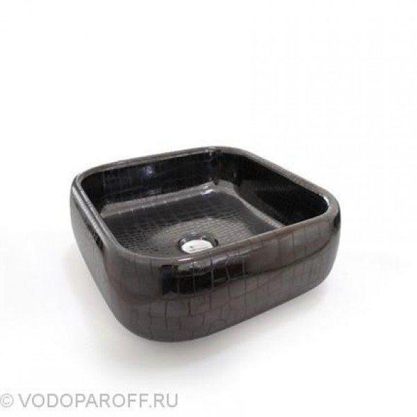 Раковина накладная для ванной на 40 см CIELO Jungle SHLAA40 (цвет coco noir)