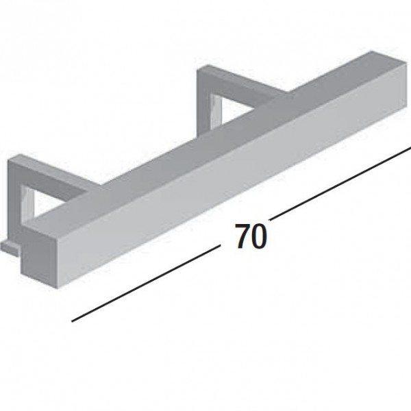 Комплект мебели для ванной комнаты Berloni Bagno SQUARED BS10 SS0850A TDF0930D (отделка шпон, цвет серый антрацит металлик, 222 GRIGIO ANTRACITE METALLIZZATO)