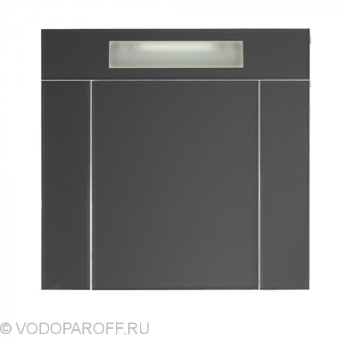 Шкаф зеркальный Vod-ok Квадро 80 см с подсветкой