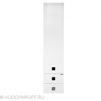 Пенал для ванной Водолей А+ КВАДРО 30 (цвет белый)