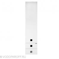 Пенал для ванной Водолей А+ КВАДРО 35 (цвет белый)