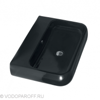 Раковина для ванной на 66 см CIELO shui SHLS66N (цвет черный глянец)