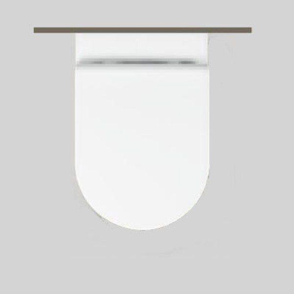 Сидение и крышка для унитаза Hatria DAYTIME Y0RG с микролифтом SoftClose (функция плавного автоматического закрытия)