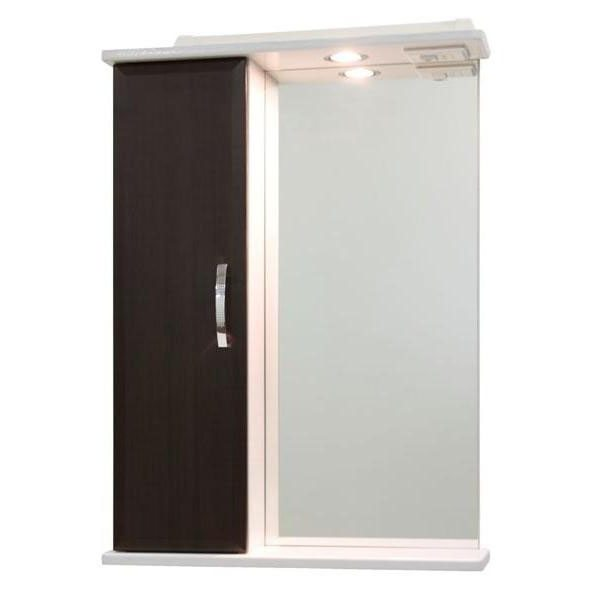 Зеркало со шкафом Колумбия 55 (цвет венге)