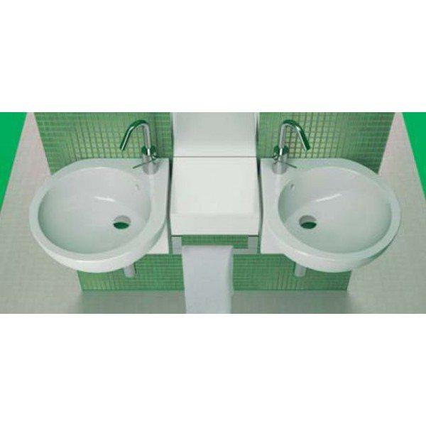 Угловая раковина для ванной комнаты Hatria YOU&ME Y0H6