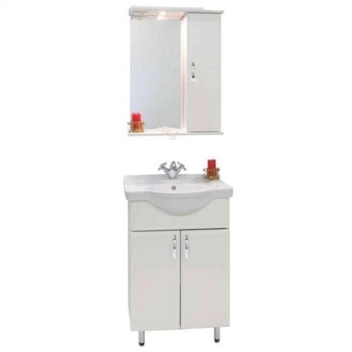 Комплект для ванной Vod-ok Колумбия 55 (цвет белый)