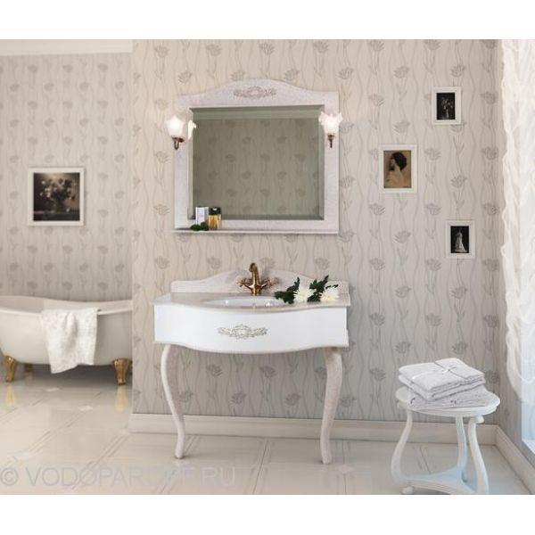 Консоль для ванной Верди 100 цвет Серый
