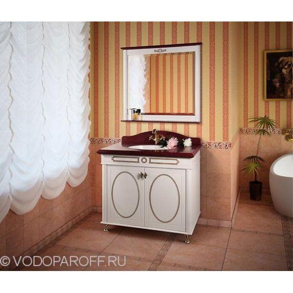 Анжелика 90 F-1 комплект мебели для ванной комнаты