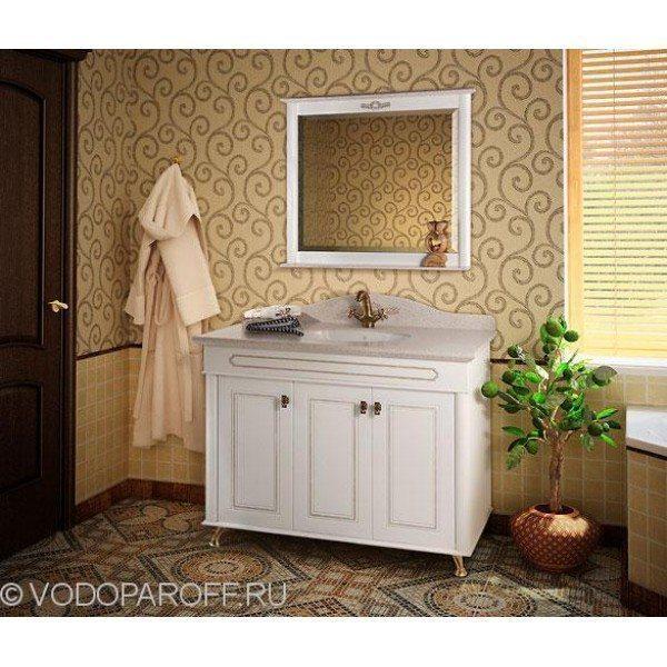 Анжелика 100 F-2 комплект мебели для ванной комнаты