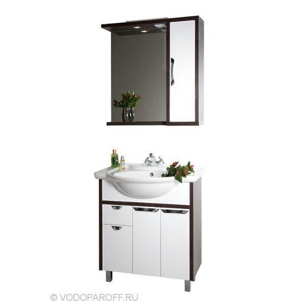 Комплект мебели для ванной Клаудия 75