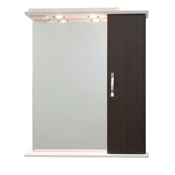 Зеркало со шкафом Колумбия 65 (цвет венге)