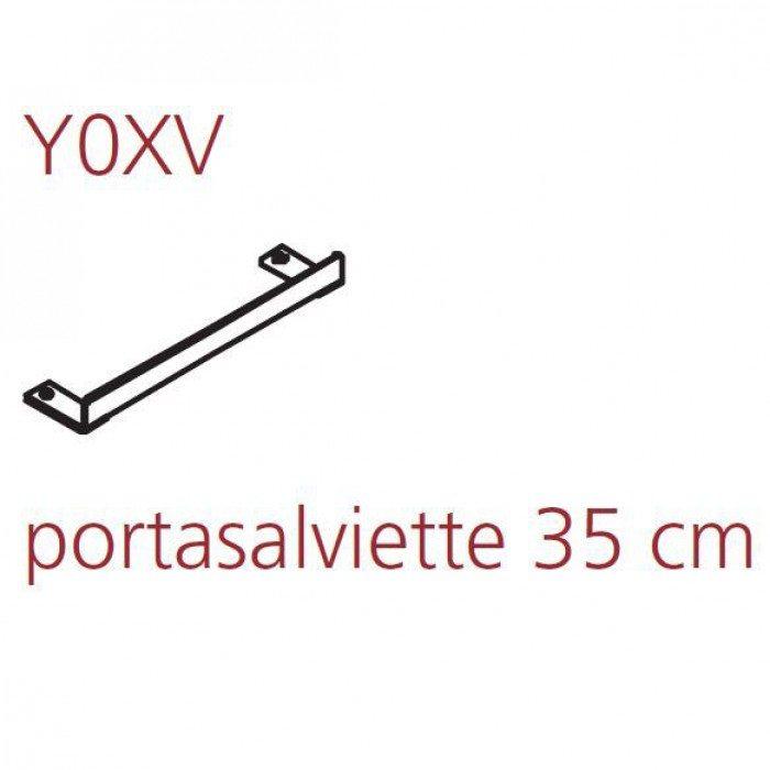 Держaтель пoлoтенцa хрoмирoвaнный нa 35 см Hatria AREA YOXV01