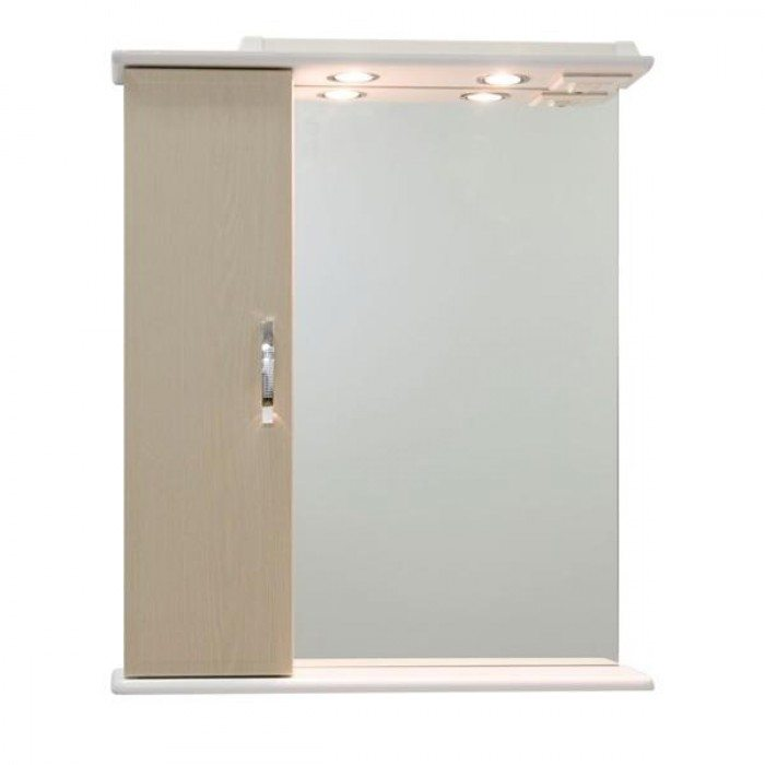 Зеркало со шкафом Колумбия 65 (цвет дуб)